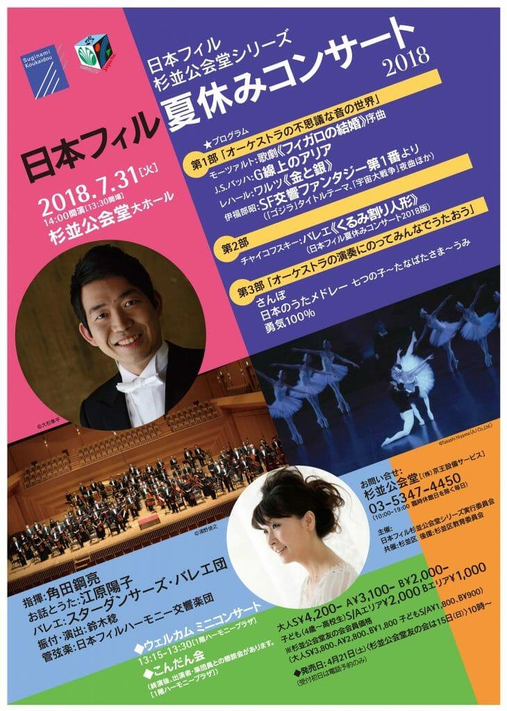日本 フィル 夏休み コンサート 2019